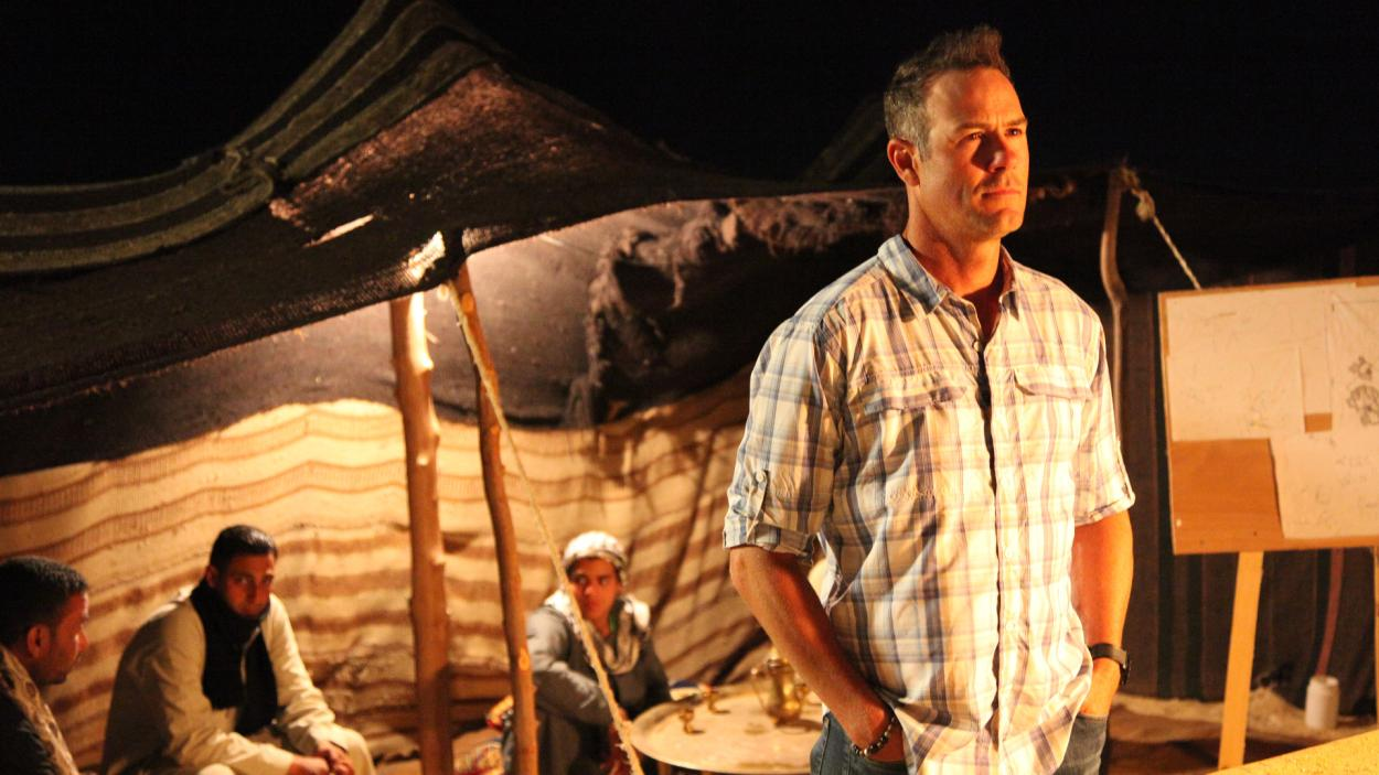 Egypt Live Host Chris Jacobs