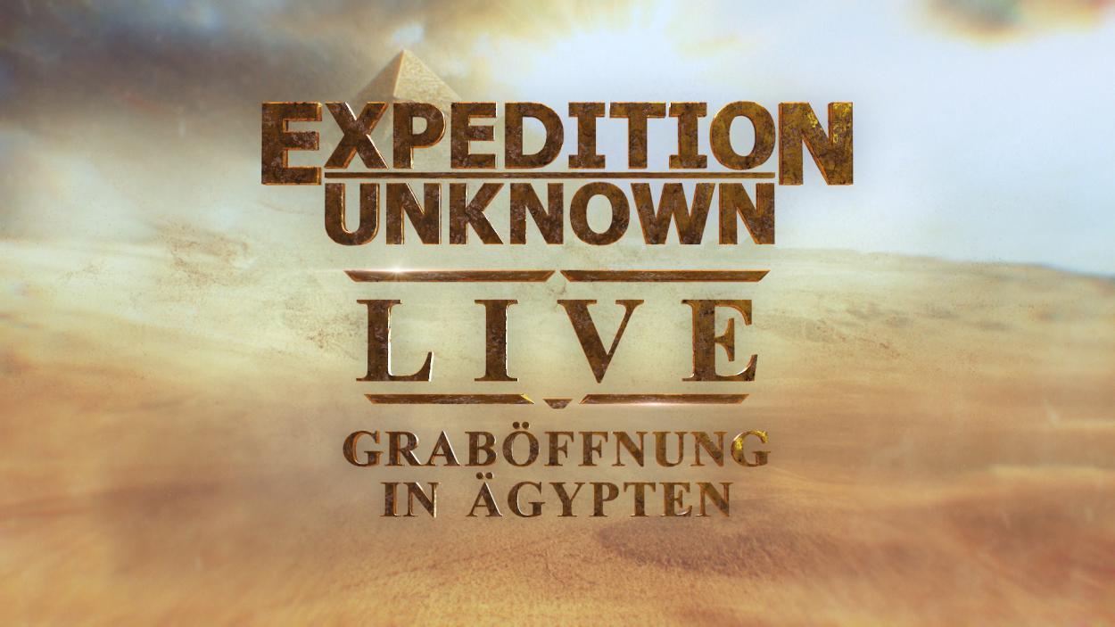 """Exklusiv im deutschen Fernsehen: """"Expedition Unknown Live"""""""