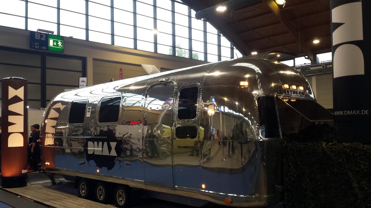 Der DMAX-Airstream-Camper auf der Tuning World Bodensee