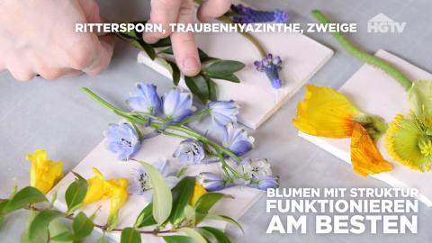 DIY: Blumen-Tischkarten