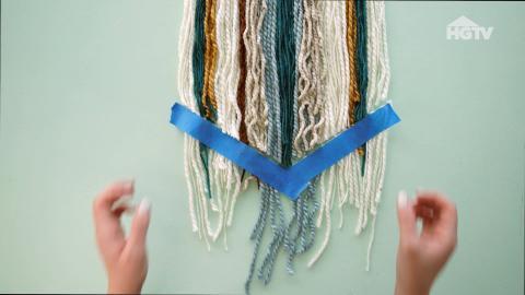 DIY: Makramee für die Wand