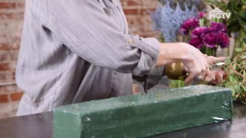 DIY: Florales Tischgesteck