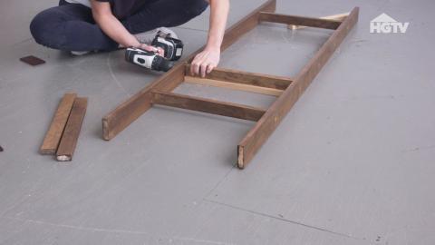 DIY: Klamotten-Leiter