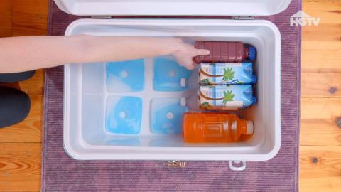 Pack deine Festival-Kühlbox