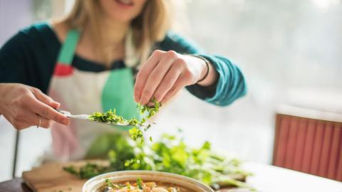 Kochen und genießen