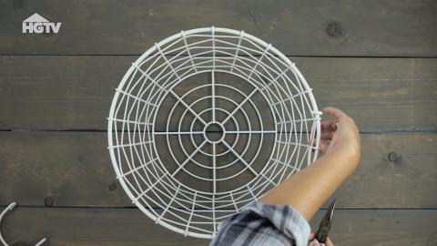 DIY: Vom Korb zur Lampe