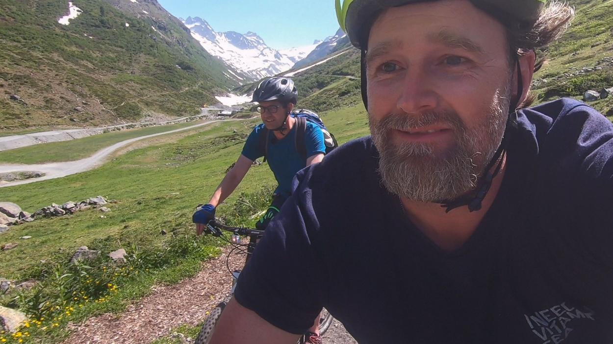 Brian Bojsen auf Tour durch Europa