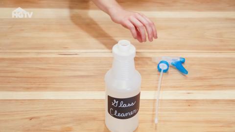DIY-Reiniger aus drei Inhaltsstoffen