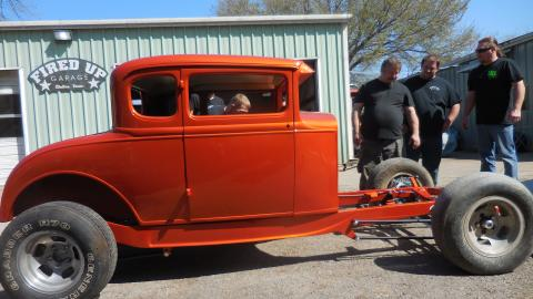 Revving Up The '31 Ford Hotrod