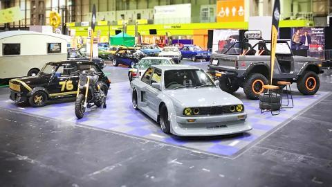 {E}13: Classic Motor Show Birmingham