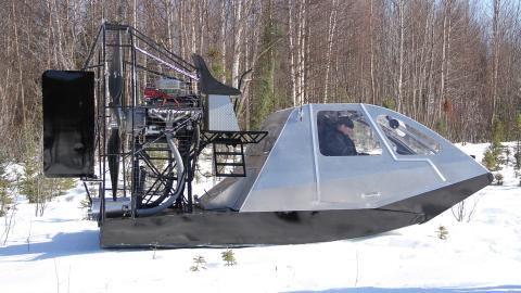 {E}05: Alaskan Airboat & ATV Gold Sluice