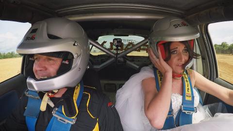 Verheiratet in der Luft