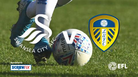 {S}01.{E}08.  Swansea City vs. Leeds United - EFL Highlights
