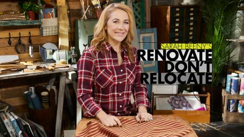 Sarah Beeny's Renovate Don't Relocate