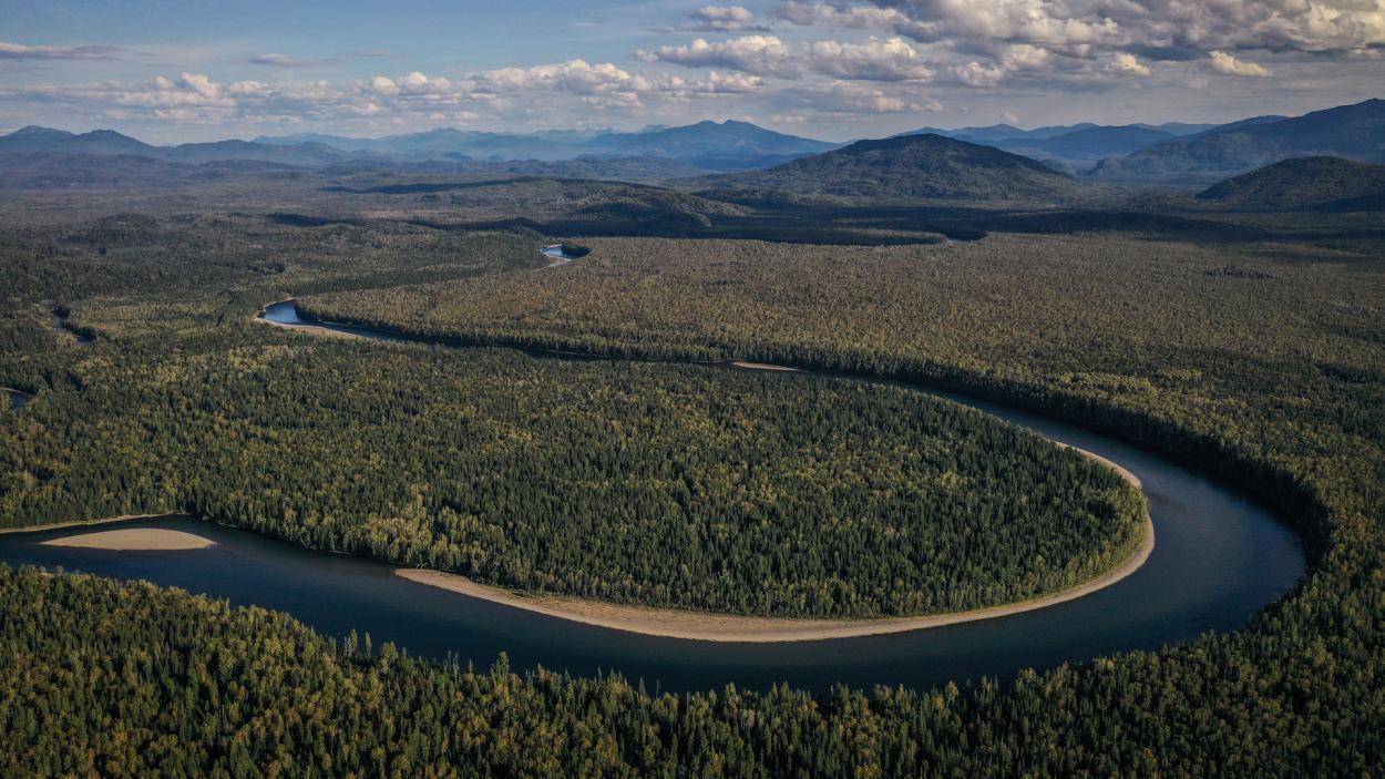 Ausgerechnet Sibirien - Ulf steigt aus: Natur pur