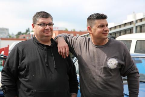 """Ivan & Zoran: Interview """"Balkan Car-Connection"""""""